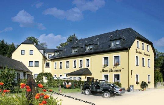 """Landhotel """"Zum Hammer"""" in Tannenberg - Geyer"""